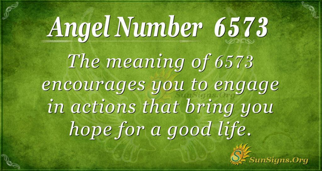 6573 angel number