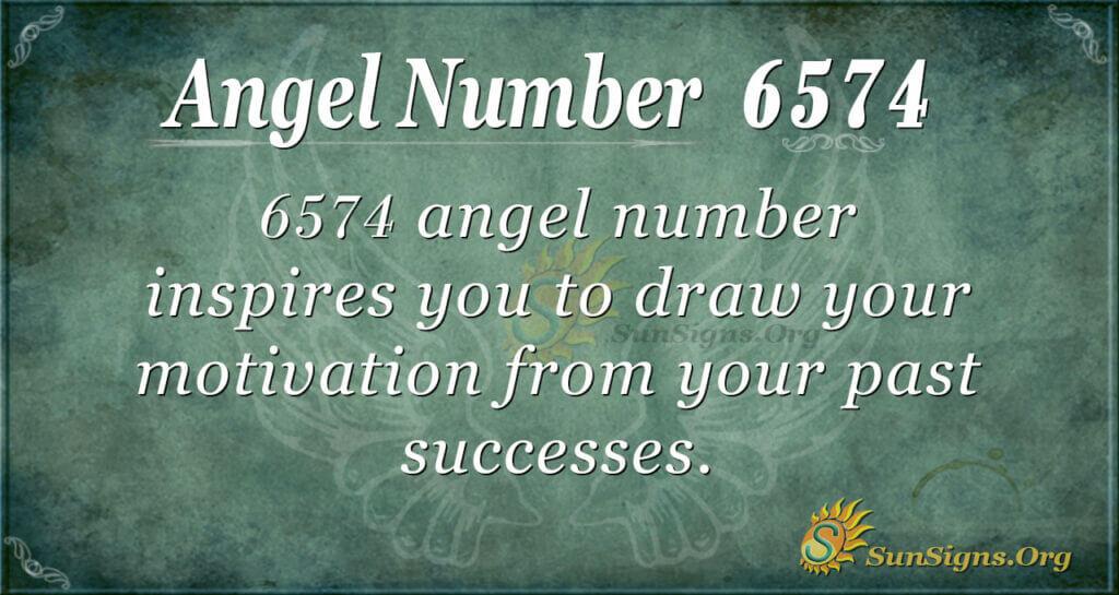 6574 angel number