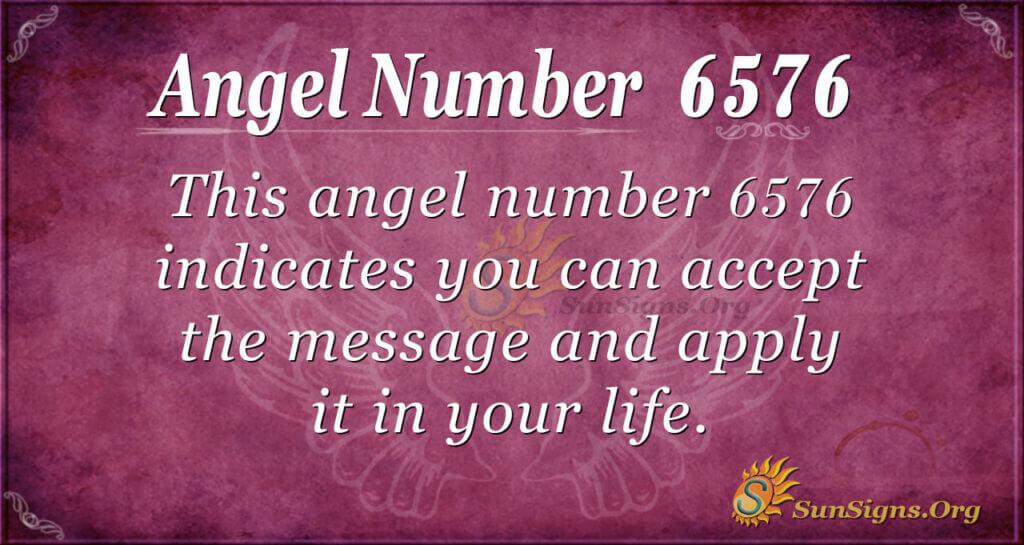 6576 angel number