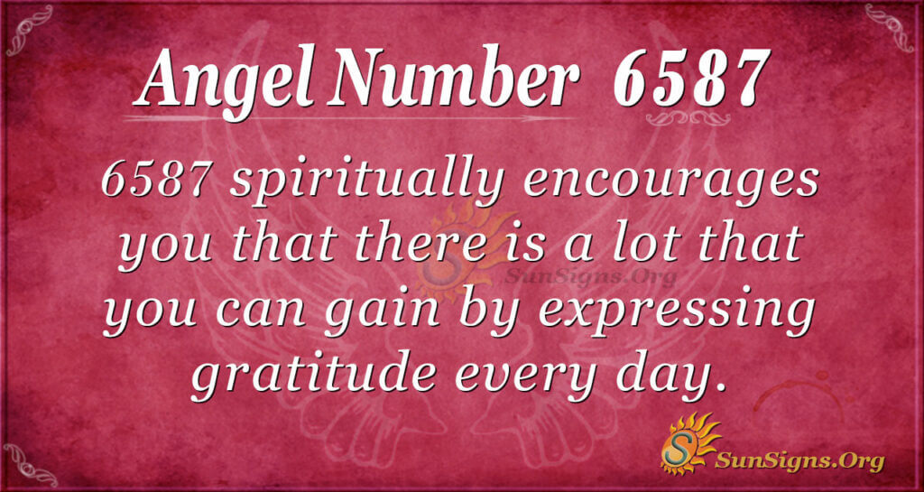 6587 angel number