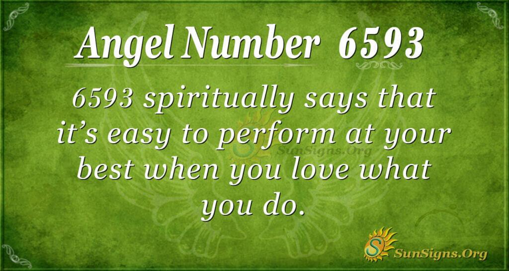 6593 angel number