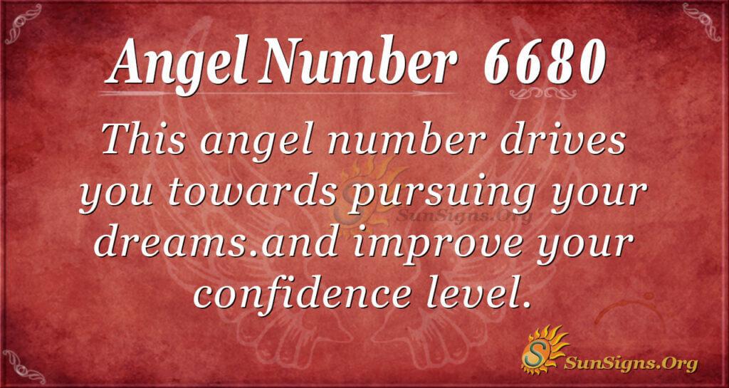 6680 angel number