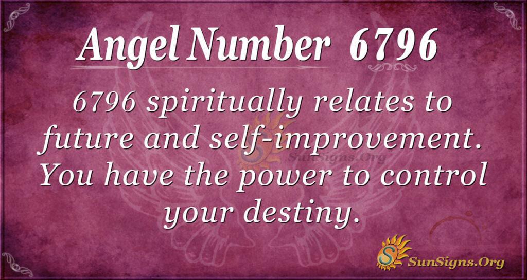 6796 angel number