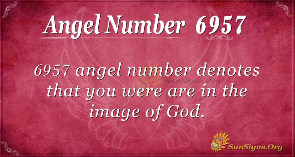 6957 angel number