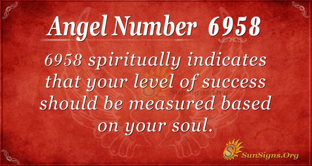 6958 angel number