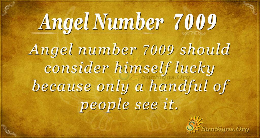 7009 angel number