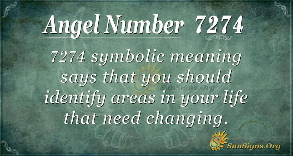 7274 angel number