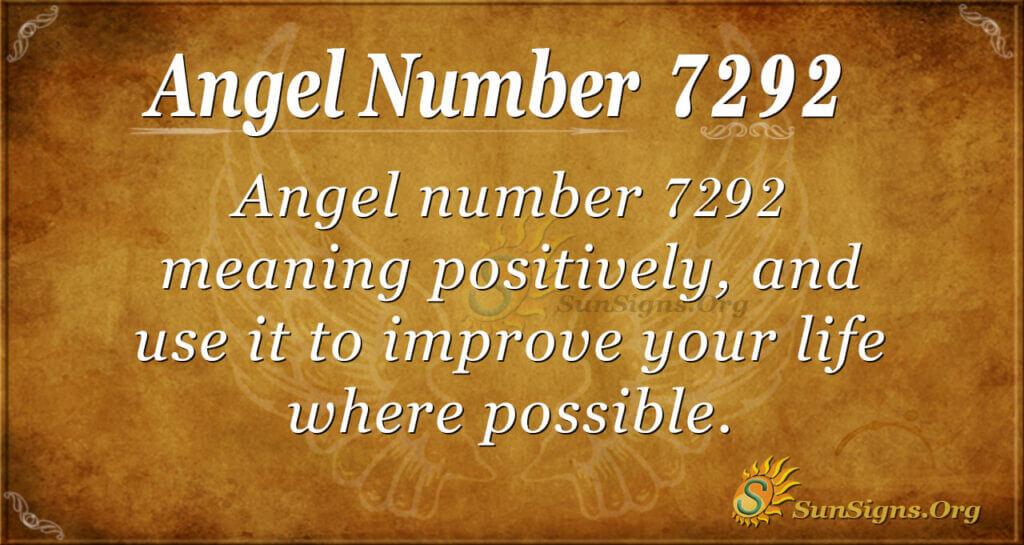 7292 angel number