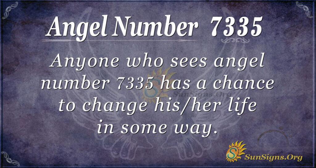 7335 angel number