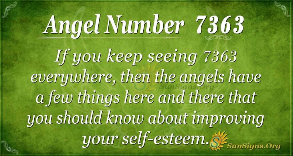 7363 angel number