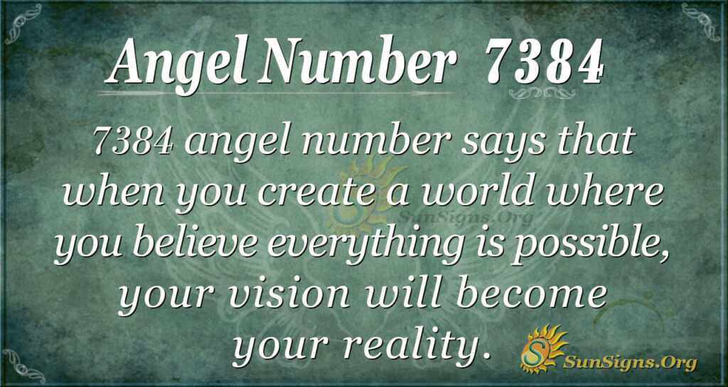 7384 angel number