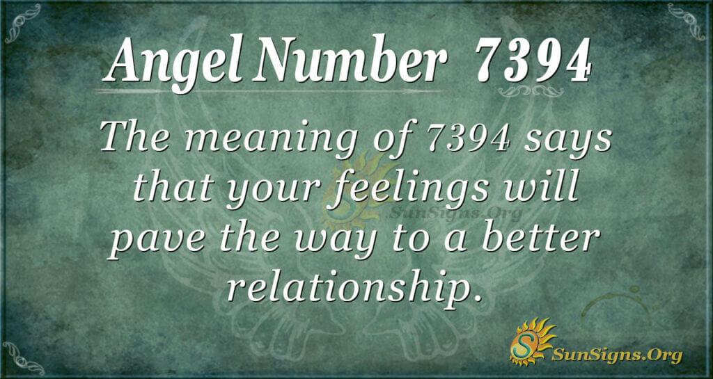 7394 angel number