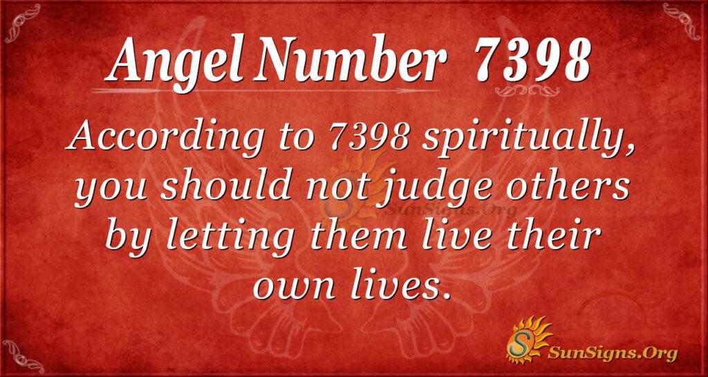 7398 angel number