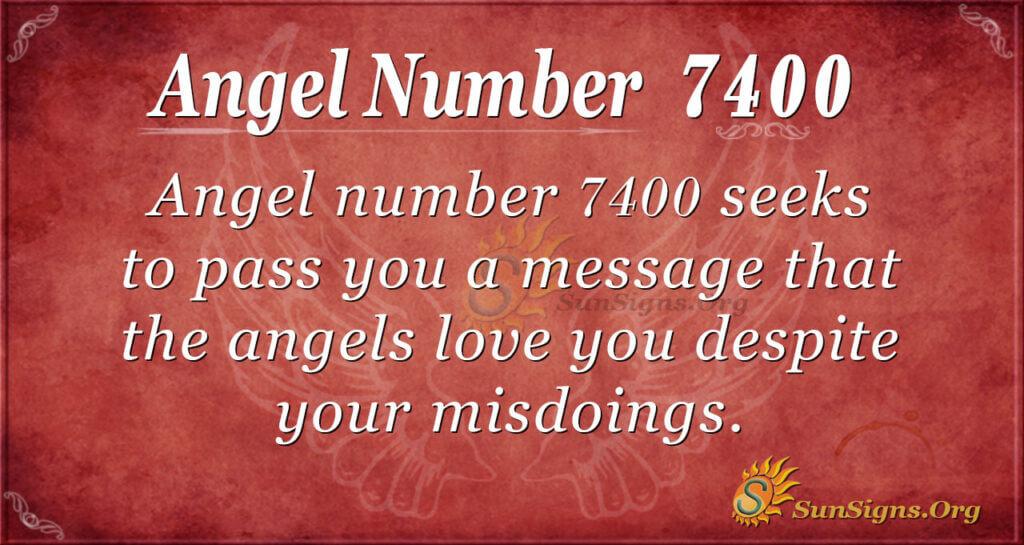 7400 angel number