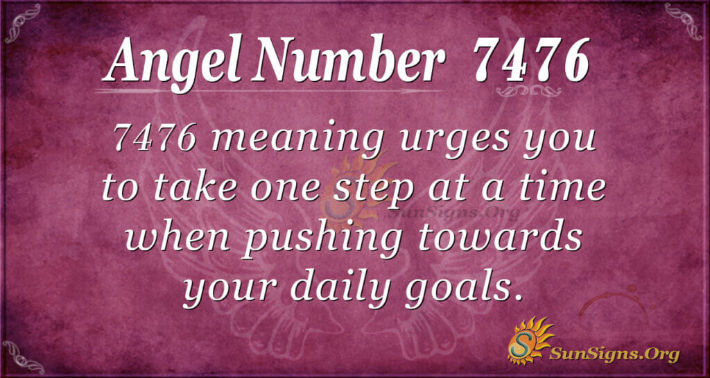 7476 angel number