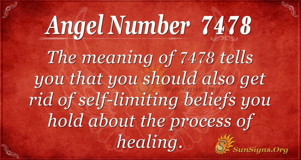 7478 angel number