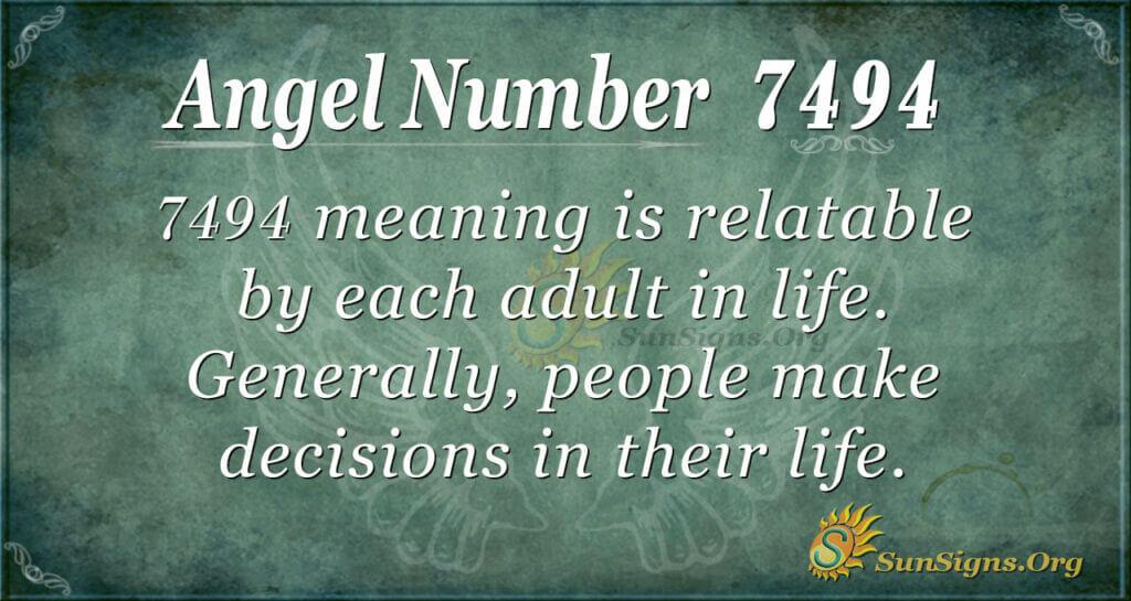 7494 angel number