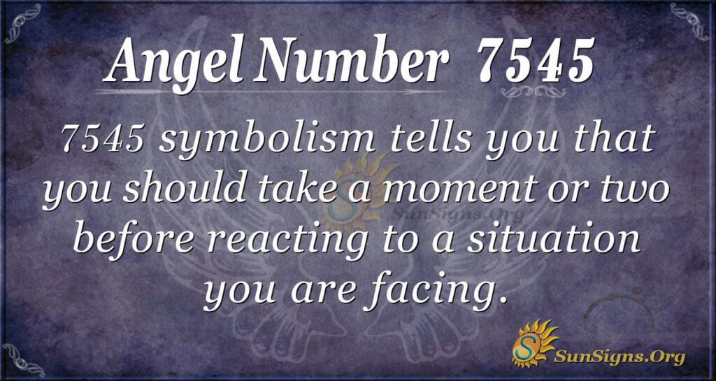 7545 angel number