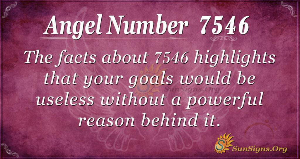7546 angel number