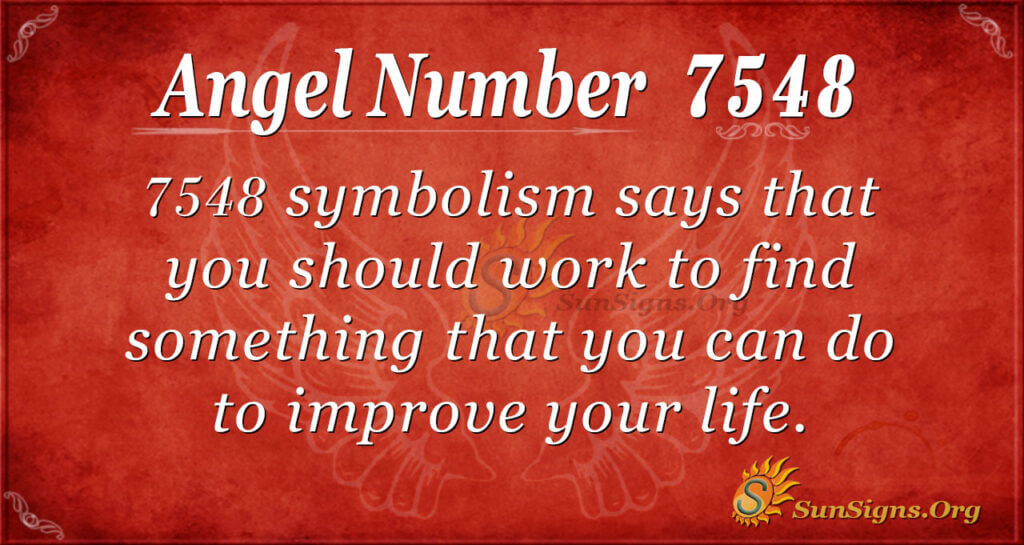 7548 angel number