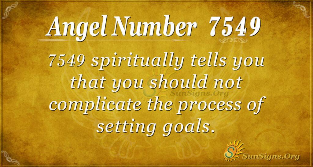 7549 angel number