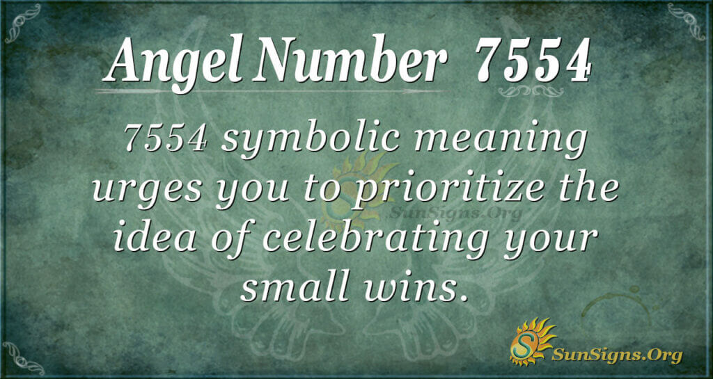 7554 angel number