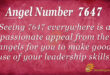7647 angel number