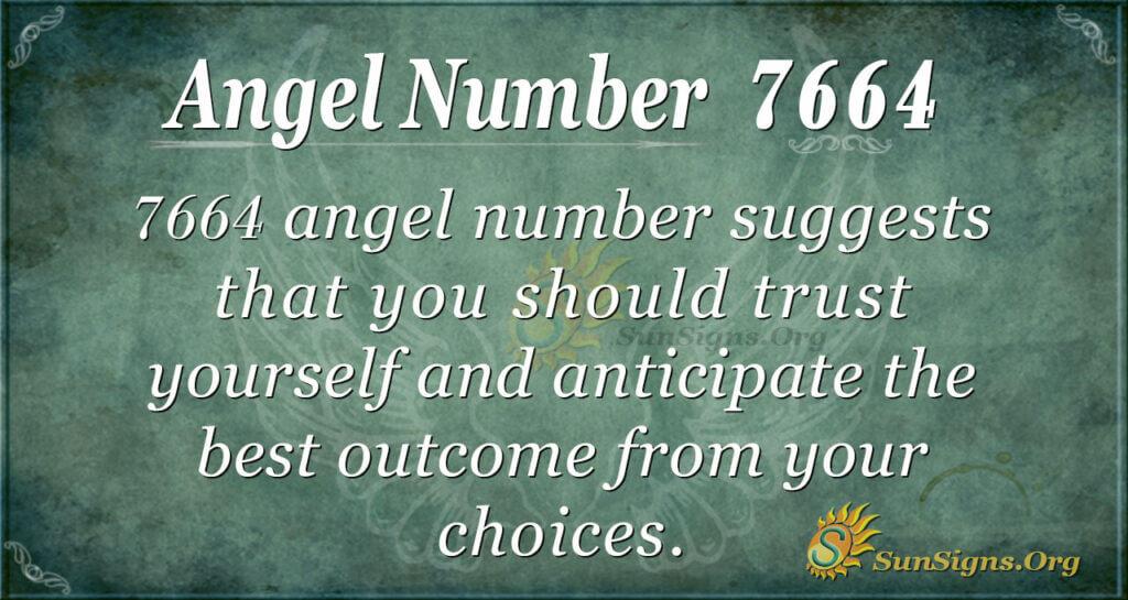7664 angel number