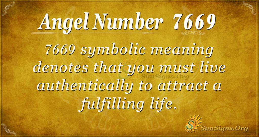 7669 angel number