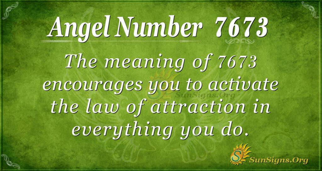 7673 angel number