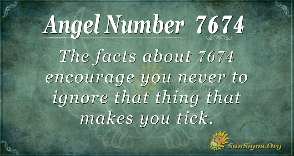7674 angel number