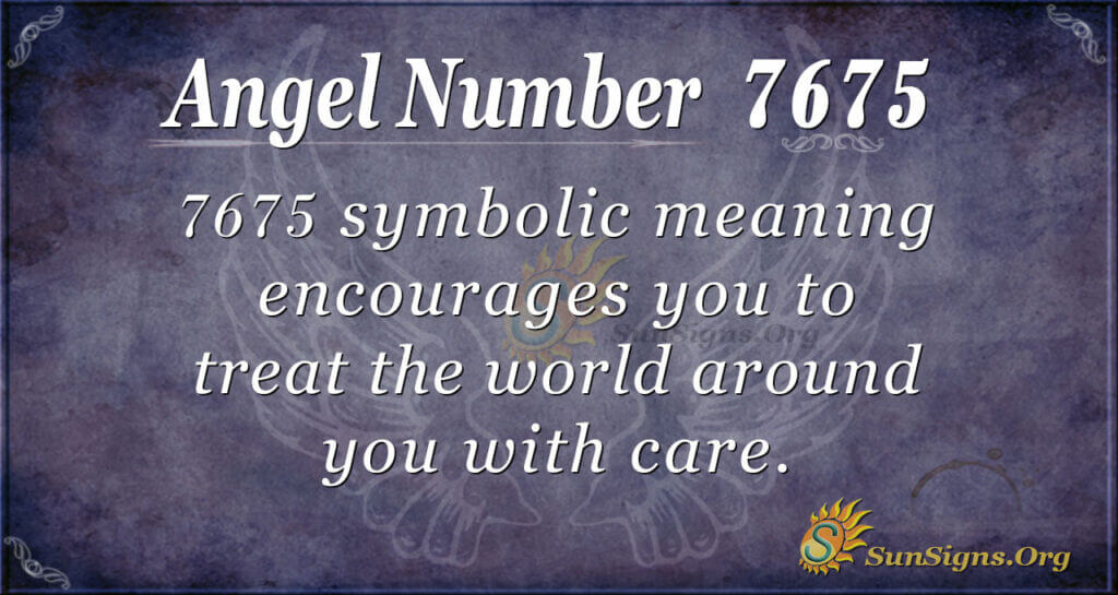 7675 angel number