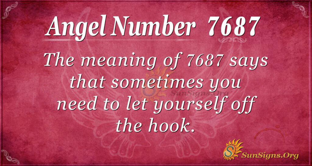 7687 angel number
