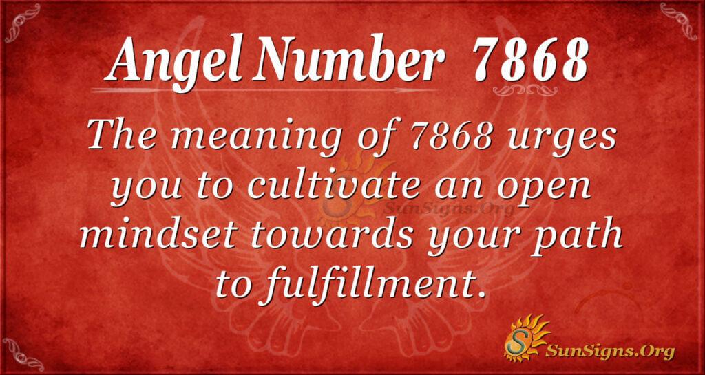 7868 angel number