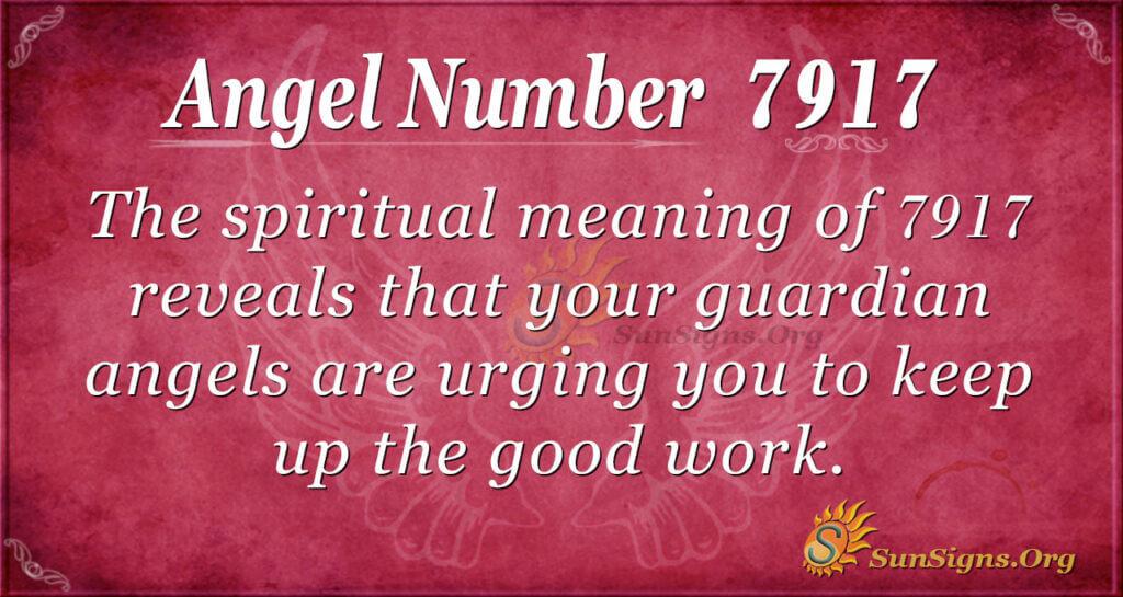 angel number 7917