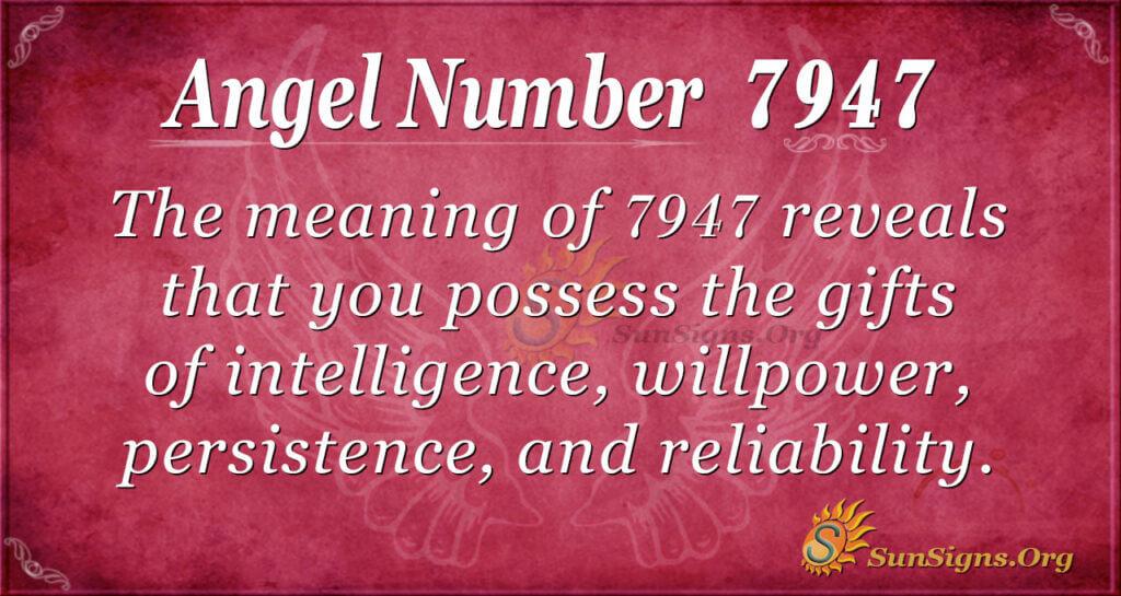 7947 angel number
