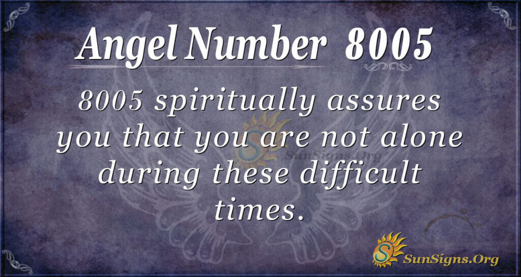 8005 angel number