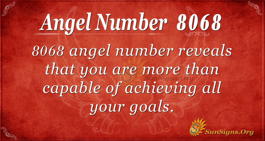 8068 angel number
