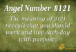 8121 angel number
