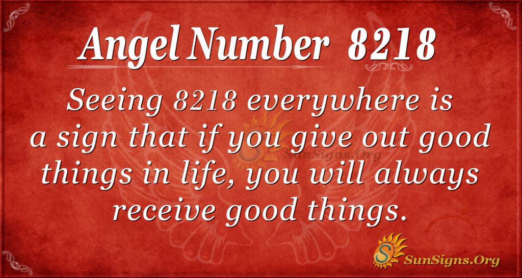 8218 angel number