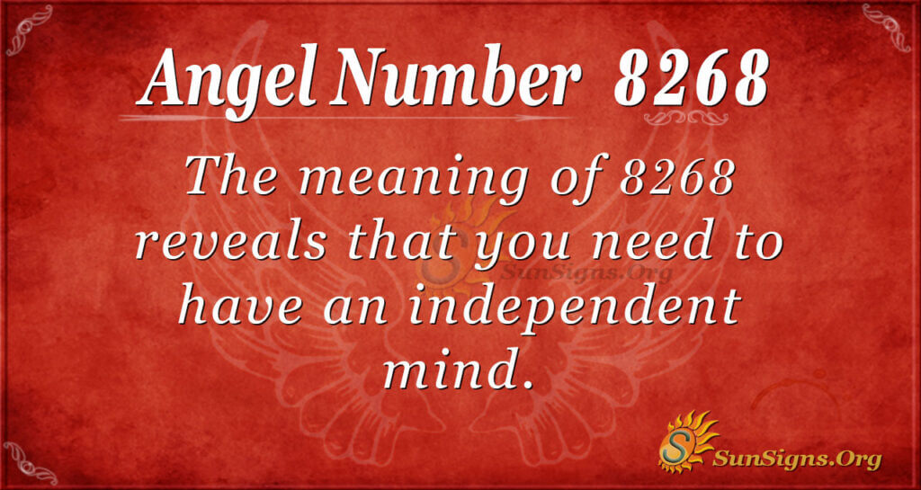 8268 angel number
