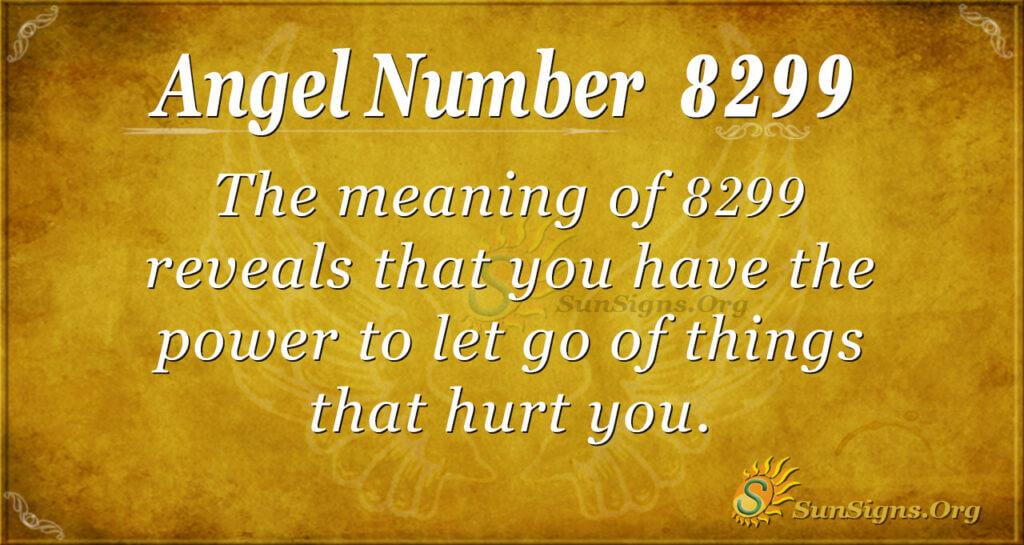 8299 angel number