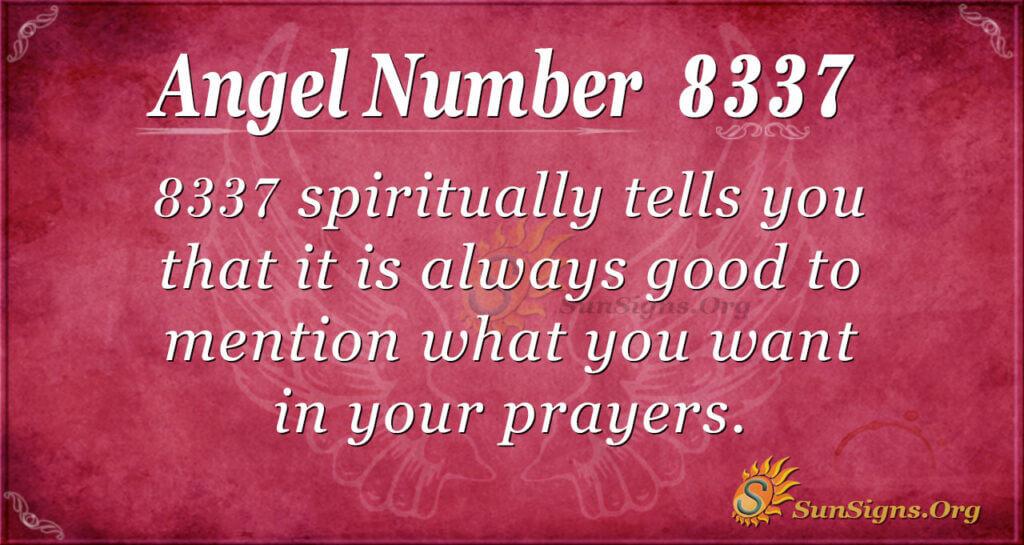 8337 angel number