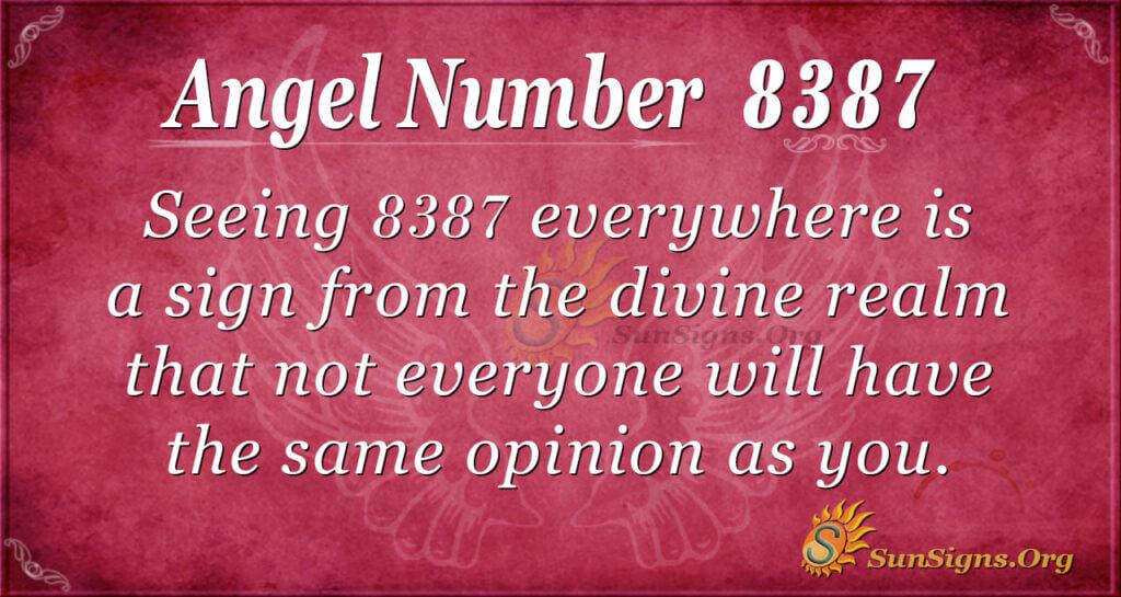 8387 angel number