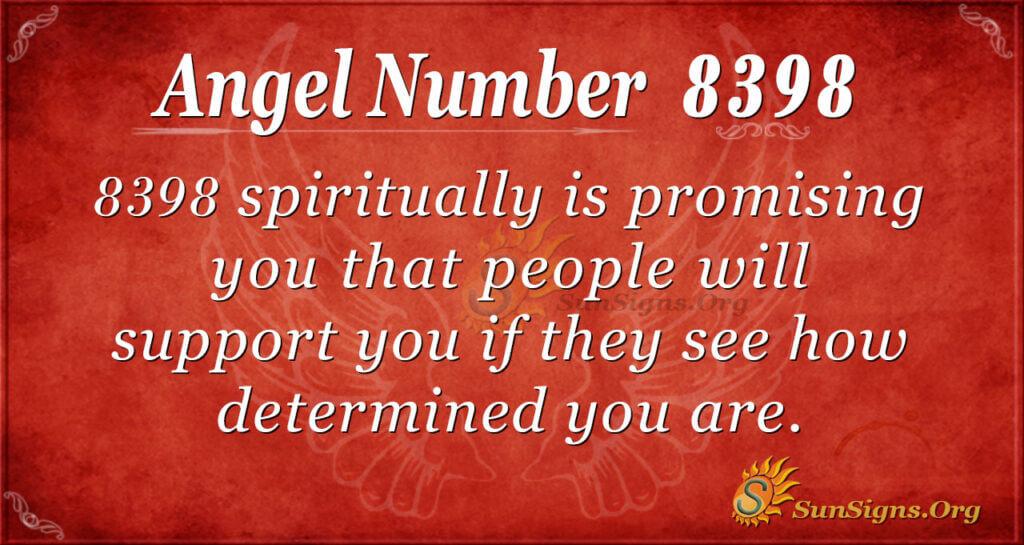 8398 angel number