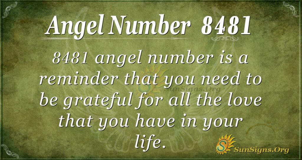 8481 angel number