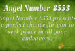 8553 angel number