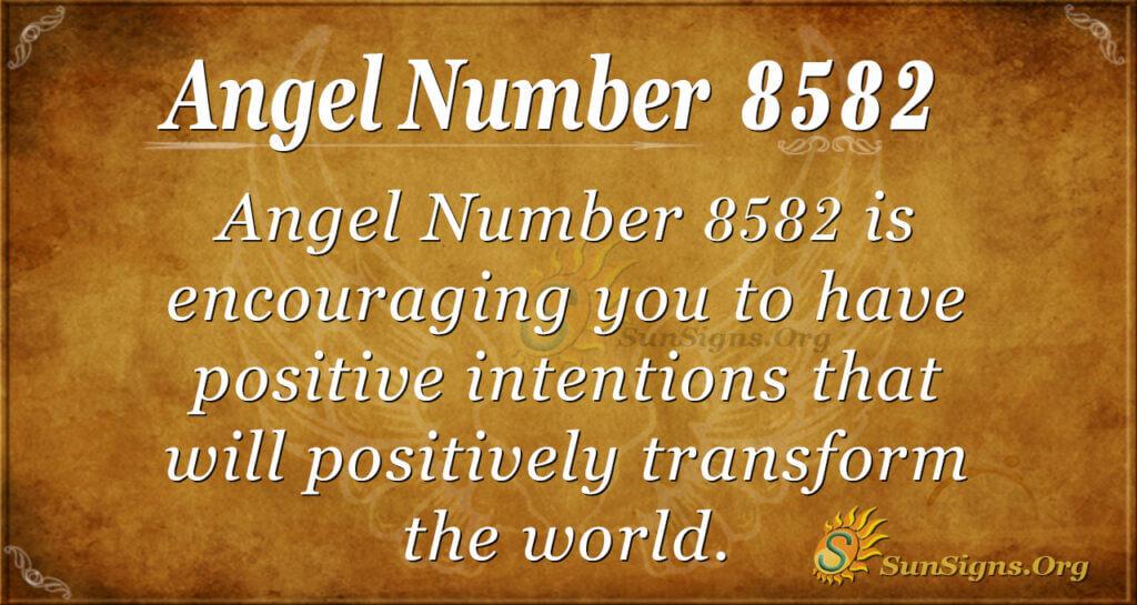 8582 angel number