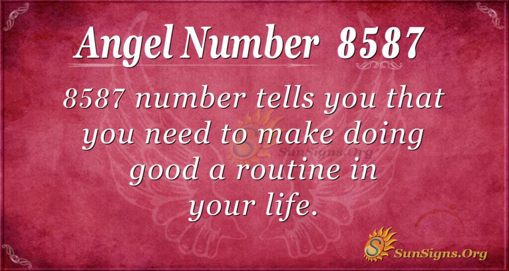 8587 angel number