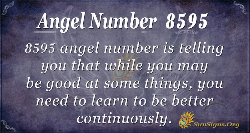 8595 angel number